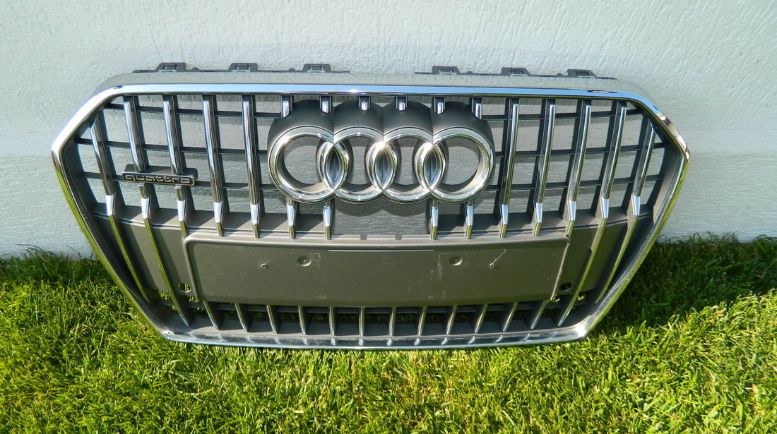 Grila bara fata Audi A6 C7 Allroad 4G model 2014 cod 4G0853653Q