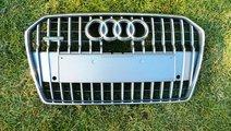 Grila bara fata Audi A6 C7 Allroad 4G model 2014 c...