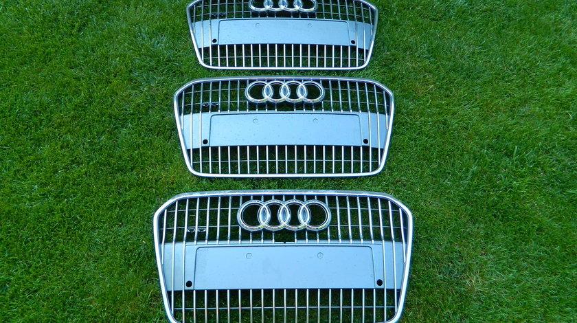 Grila bara fata Audi A6 C7 Allroad 4G model 2014 cod 4G0853653