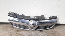 Grila bara fata centrala cromata, Opel Zafira B (A...