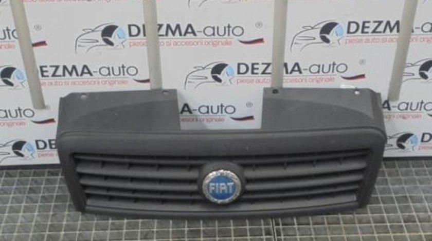Grila bara fata centrala cu sigla, Fiat Doblo Cargo