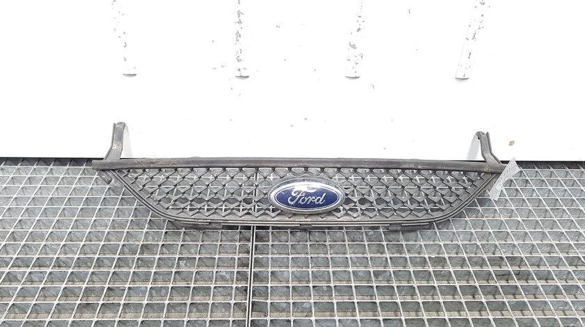 Grila bara fata centrala cu sigla, Ford S-Max 1 [Fabr 2006-2014] 6M21-8200-AD (id:411259)