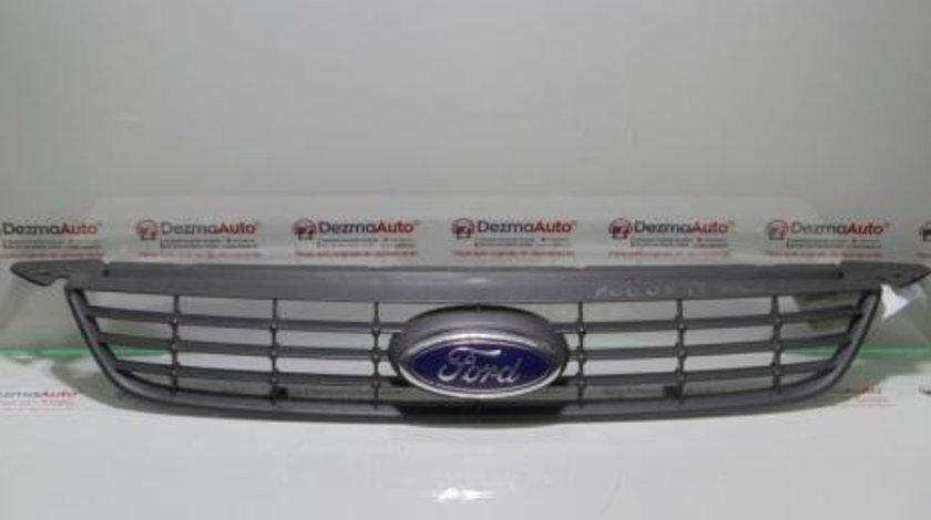 Grila bara fata cu sigla, 8M51-8200-AF, Ford Focus 2