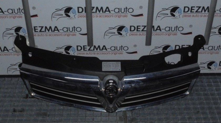 Grila bara fata cu sigla, GM13225788, Opel Astra H combi (id:233358)