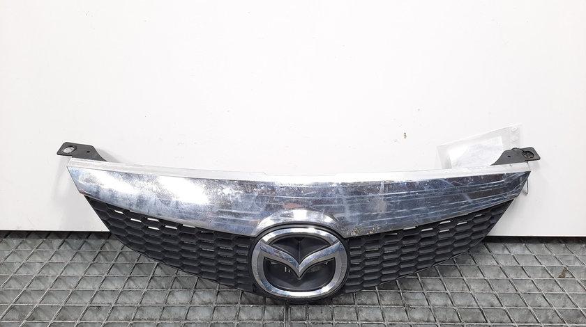 Grila bara fata cu sigla, Mazda 6 Hatchback (GG) [Fabr 2002-2008] GR1L50712 (id:425882)
