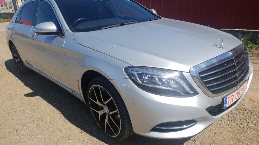 Grila bara fata Mercedes S-Class W222 2016 LONG W222 3.0 cdi v6 euro 6