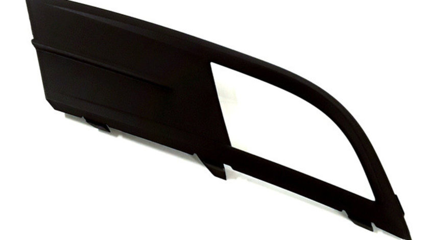 Grila bara fata stanga (cu locas proiector, plastic, negru) VW JETTA intre 2014-2018