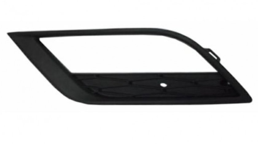 Grila bara Seat Ibiza (6j) 04.2012-, Fata partea Dreapta, Cu gaura pentru proiector, 6J0853666E9B9 Kft Auto