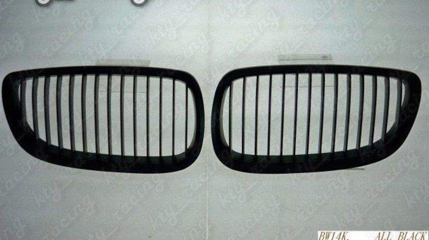 GRILA BMW E93 SERIA 3 CABRIO 07-09 NEGRU LUCIOS OEM LOOK BW14K-F
