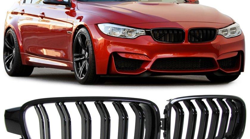 Grila BMW F30 / F31 10.11- M3 LOOK negru lucios