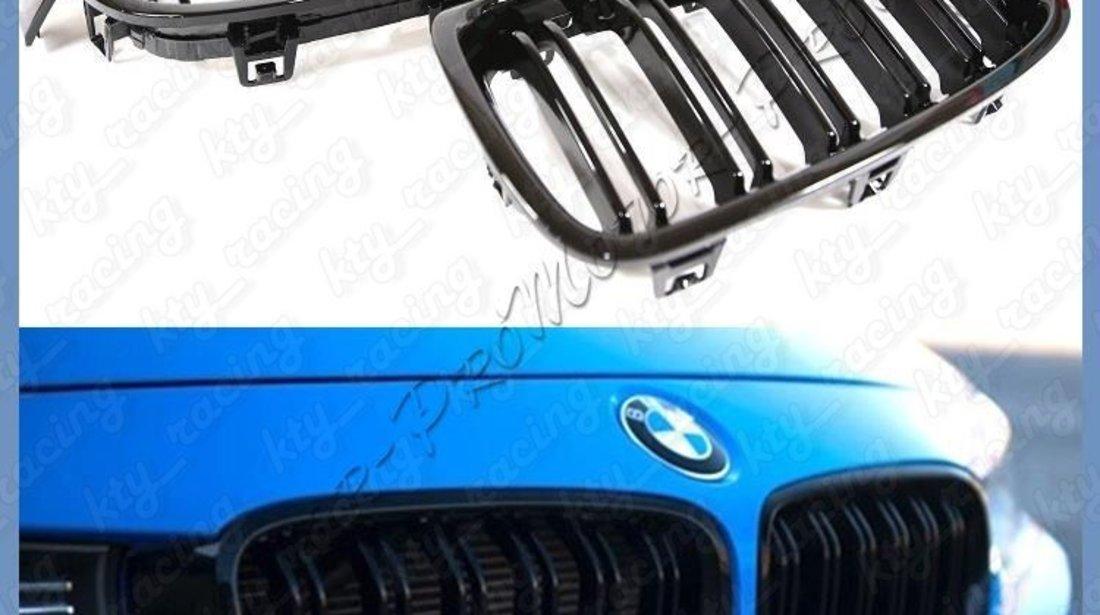 GRILA BMW F30 M LOOK DUBLE NEGRU LUCIOS BW31M-F