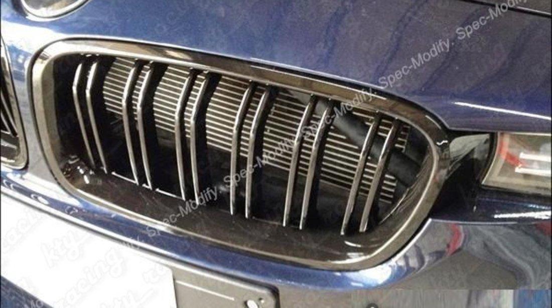 GRILA BMW F30 M LOOK DUBLE NEGRU LUCIOS ⭐️⭐️⭐️⭐️⭐️