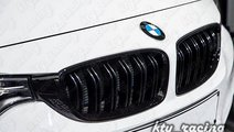 GRILA BMW F30 M LOOK DUBLE NEGRU LUCIOS ⭐️⭐...