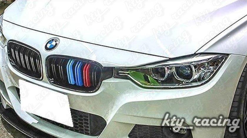 GRILA BMW F30 M LOOK NEGRU LUCIOS M TRI COLOUR BW31MP-F