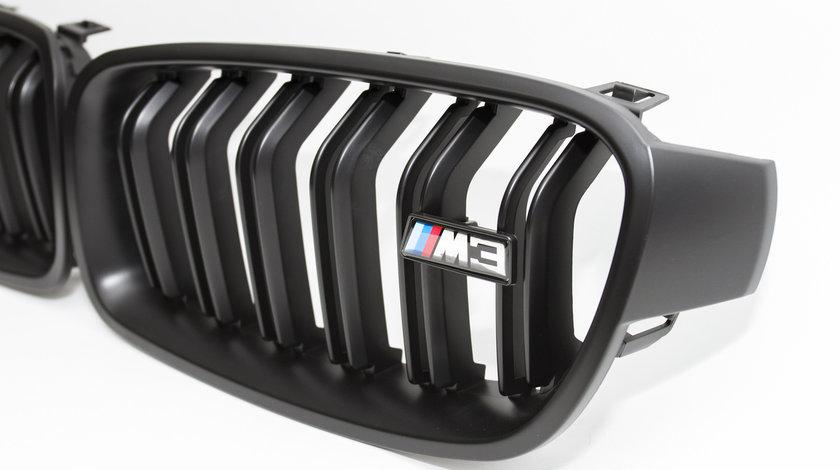 Grila BMW M5 M3 negru mat-lucios BMW seria5 seria3 F10--F30