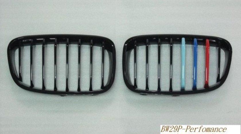 GRILA BMW SERIA 1 F21 ( 2011 - UP ) PERFORMANCE NEGRU LUCIOS M TRI COLOUR BW29P-F