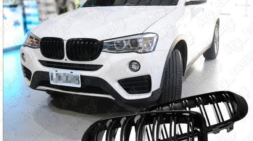 GRILA BMW X3 LCI F25 X4 F26 M LOOK NEGRU LUCIOS BW37M-F
