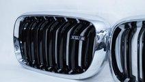 Grila BMW X5 X6 F15 F16 F85 F86 Negru licios si ch...
