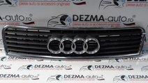 Grila capota fata cu sigla 8E0853615B, Audi A4 (8E...