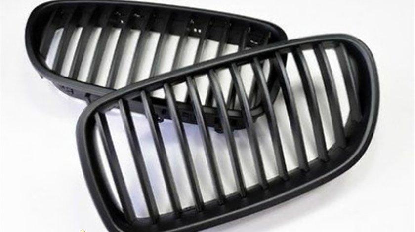 Grila centrala BMW seria 5 F10 negru mat