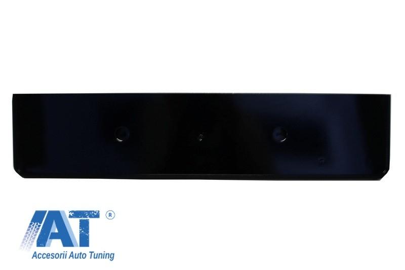 Grila Centrala Fara Emblema compatibil cu AUDI A4 B8 (2007-2012) RS Design Negru Lucios