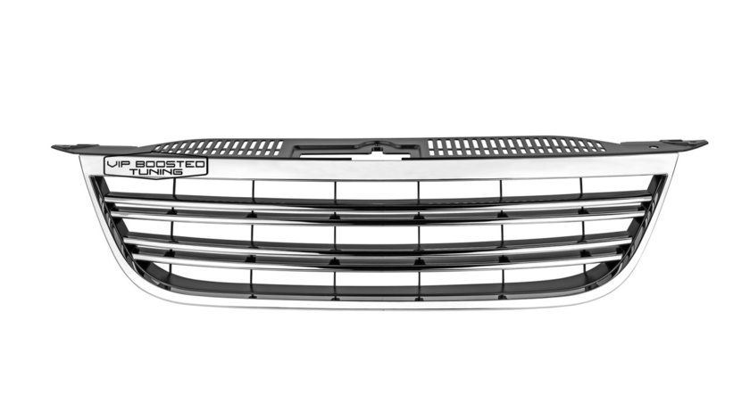 Grila centrala fara emblema semn CROM  VW TIGUAN 2007-2011