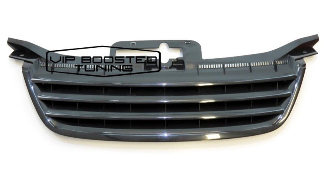 Grila Centrala fara emblema VW TOURAN 2003-2006 Neagra