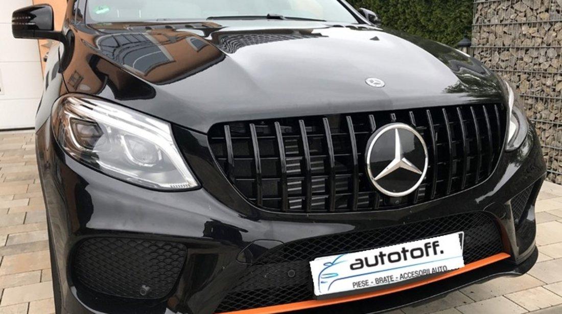 Grila centrala Mercedes Benz GLE Coupe C292 (15-18) model Panamericana