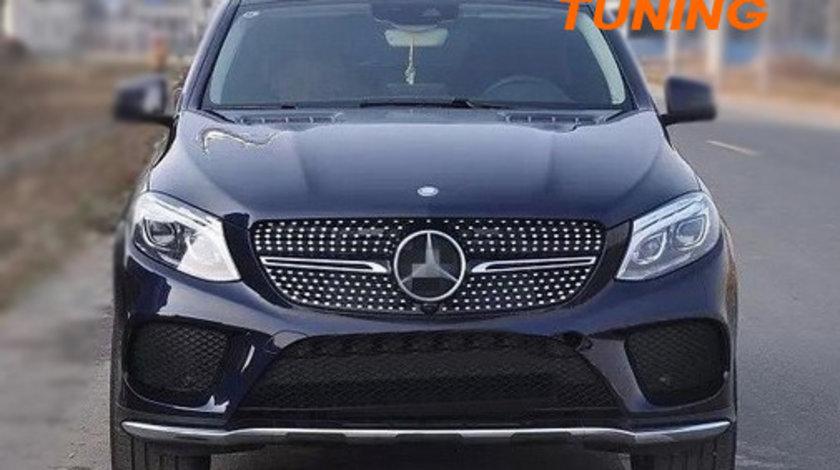 Grila Centrala Mercedes Benz GLE Coupe C292 (15-18) Diamond Design