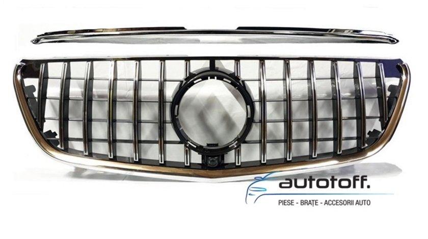 Grila centrala Mercedes Benz Vito W447 (15-18) GT Panamericana