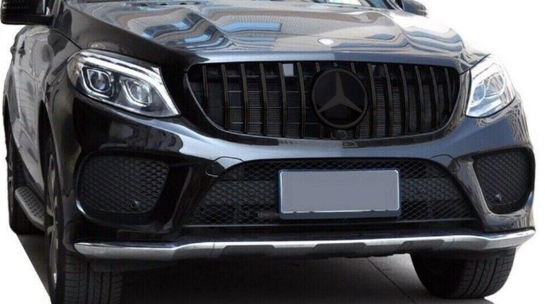 Grila centrala Mercedes GLE W166 SUV (2015-2018) GT Panamericana