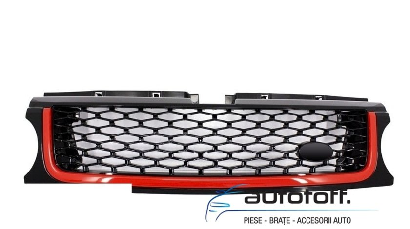 GRILA CENTRALA SI GRILELE LATERALE RANGE ROVER SPORT L320 (09-13) AUTOBIOGRAPHY RED DESIGN