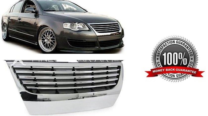 Grila CROM fara emblema VW Passat 3C (fara PDC)