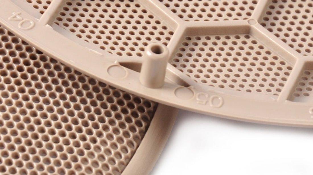 Grila Difuzor Boxa Usa Compatibil Volkswagen Golf 4 1997-2005 3B0868149 Bej Set 2 Buc