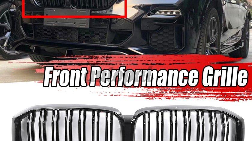 Grila dubla BMW X5 G05 19-20 M Performance Negru Lucios