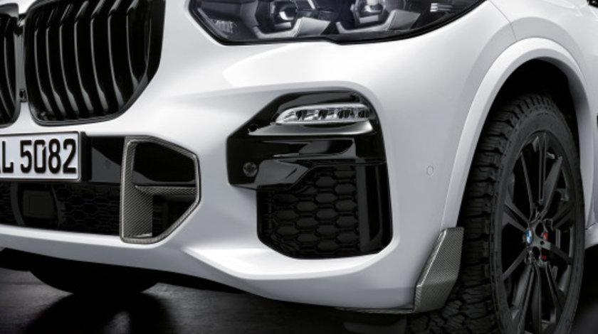 Grila fata BMW X5 G05 19-20 M Performance Negru Lucios