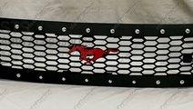 GRILA FATA CU LED FORD RANGER T6 2012-2015 [MUSTAN...