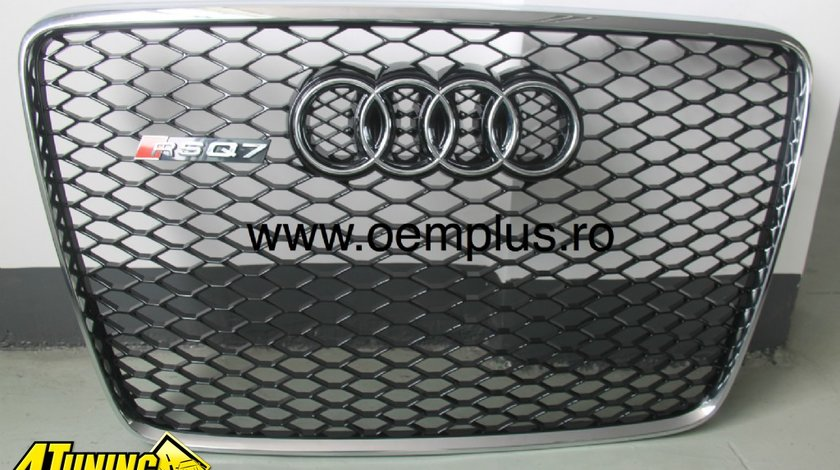 Grila fata Q7 model RS cu fagure