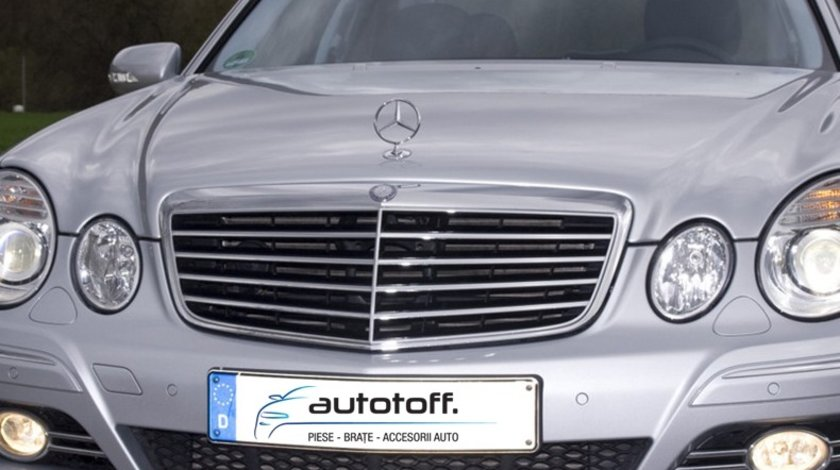 Grila Mercedes Benz E-Class W211 model Avantgarde