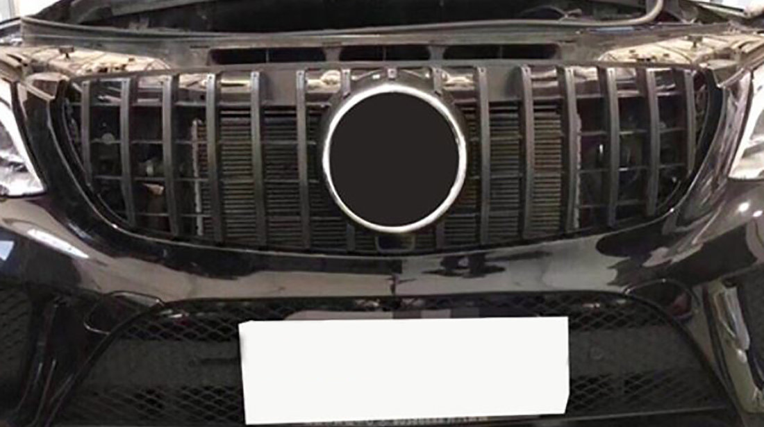 Grila Mercedes Benz GLE Coupe C292 (15-18) GT Black Design