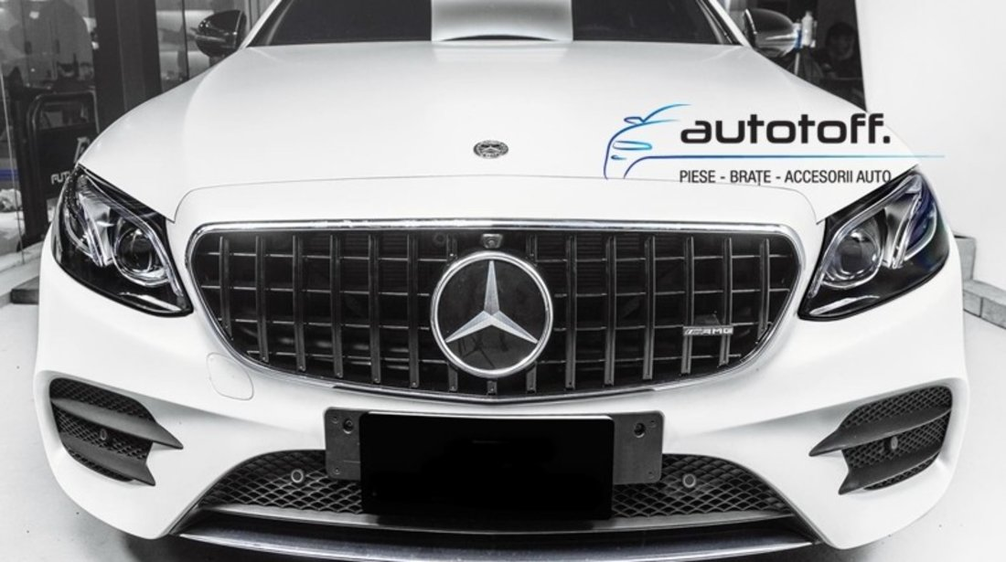 Grila Mercedes E-Class W213 S213 C238 A238 (2016+) GT Panamericana Design