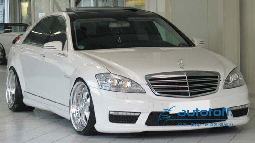 Grila Mercedes S Class W221 Crom