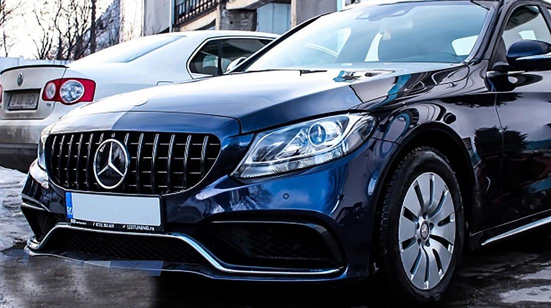 GRILA NEGRU LUCIOS Mercedes C-Class W205 (2014-2018)
