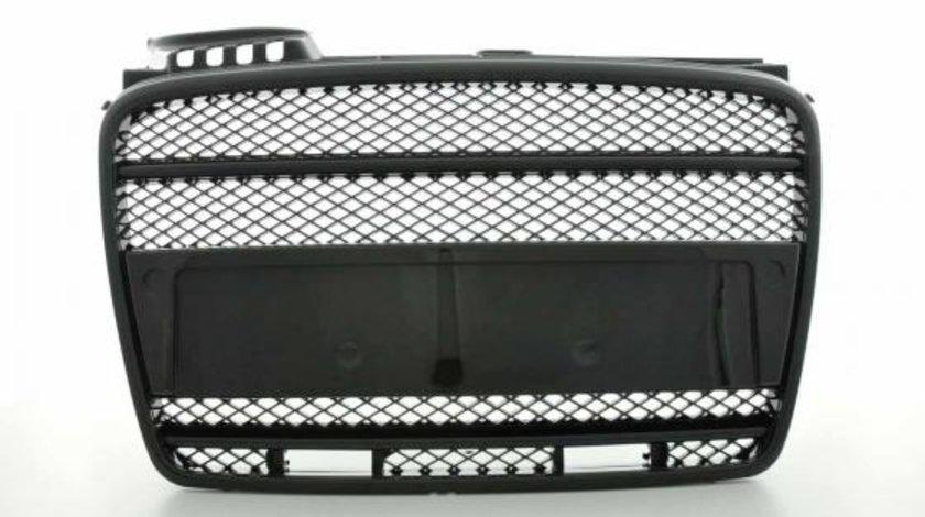 GRILA RADIATOR AUDI A4 B7 FUNDAL BLACK CU DAYLINE -COD FKSG33405-1