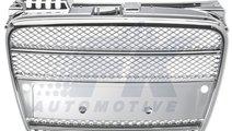 GRILA RADIATOR AUDI A4 B7 FUNDAL CROM -COD FKSG332...