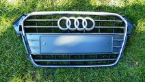 Grila radiator Audi A4 Facelift model 2012- 2014 c...