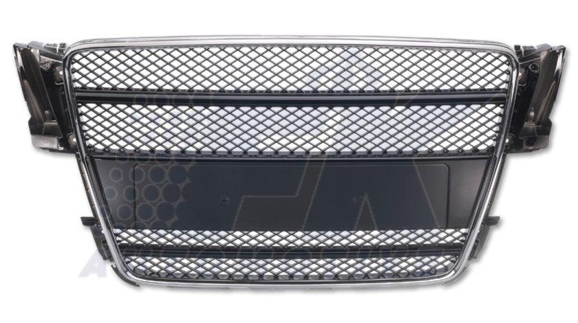 GRILA RADIATOR AUDI A5 BLACK/CROM -COD FKSG33907-1
