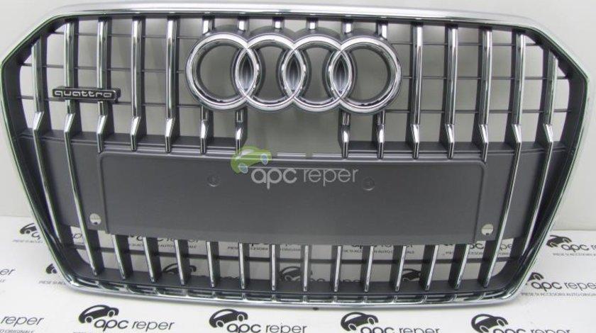 Grila Radiator Audi A6 4G Allroad 2014 Grila centrala bara fata Audi A6 4G Allroad