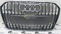 Grila Radiator Audi A6 4G Allroad 2014 Grila centr...