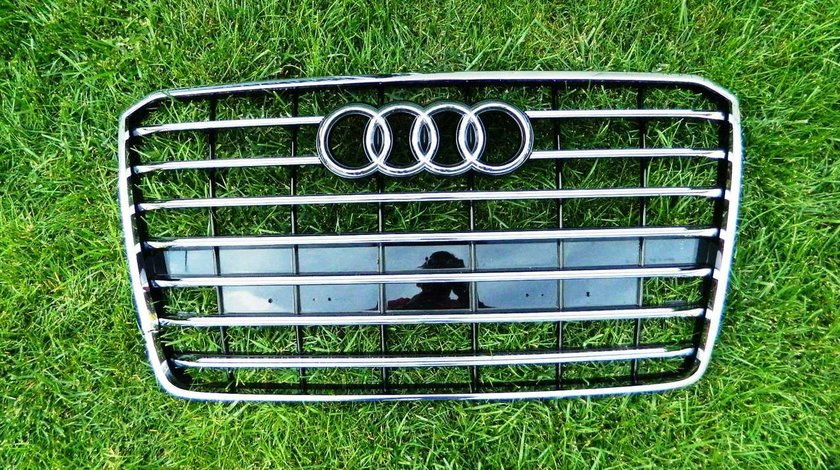 Grila radiator Audi A8 Facelift An 2013-2016 cod 4H0853651AL